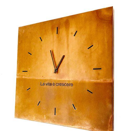 orologio quadrato La vita è crescere