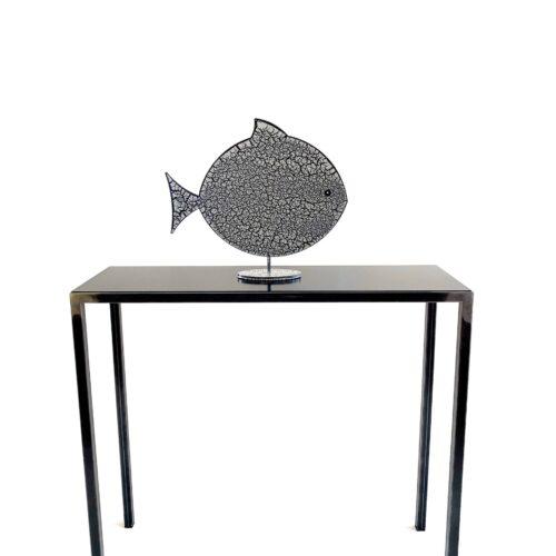 Consolle e pesce craquele